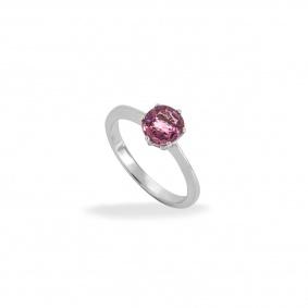 18k White Gold Pink Spinel Ring 1.20ct